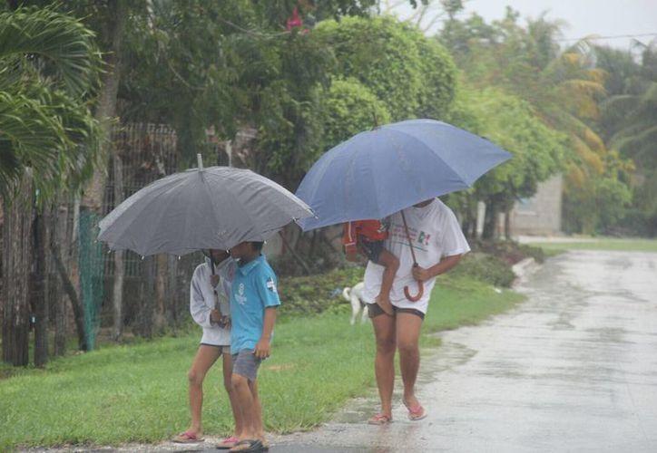 Se espera que en las próximas horas haya un descenso en la cantidad de precipitaciones. (Redacción/SIPSE)