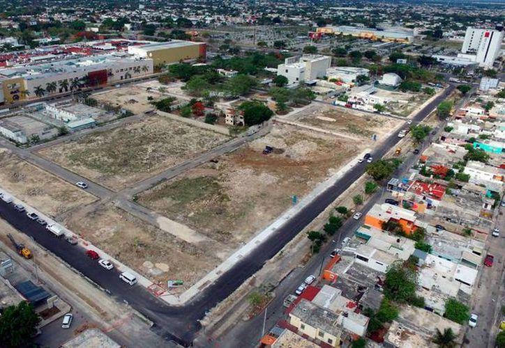 Las obras de modernización de la zona de Cordemex, al norte de Mérida, van a la mitad. Se terminarán en agosto, según el Ayuntamiento. (Milenio Novedades)