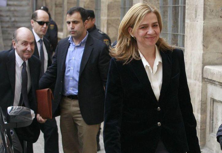 """La infanta Cristina de Borbón apeló la apertura de juicio oral por presuntos delitos fiscales en el llamado """"caso Nóos"""". (Archivo/EFE)"""