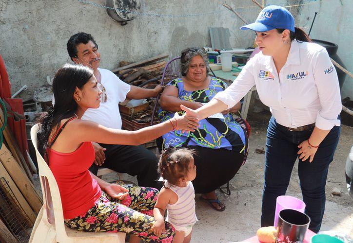 Quintana Roo es un ejemplo nacional en implementación del Sistema de Combate, recalca la candidata Mayuli Martínez.