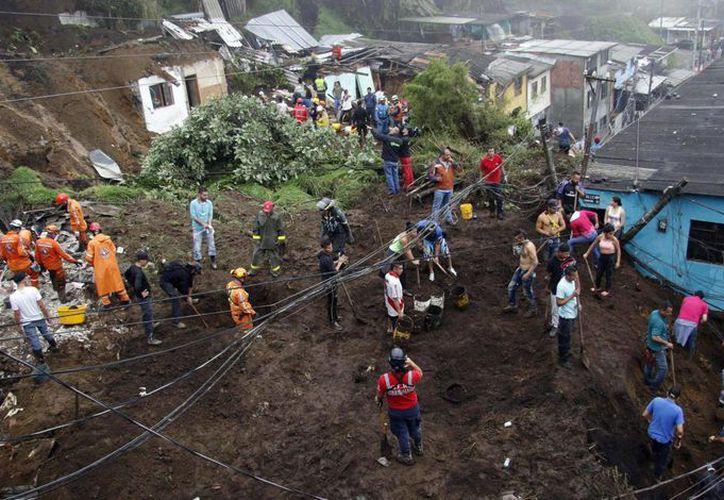 Hasta el momento hay 57 viviendas afectadas a causa de la ola invernal que afronta la capital del departamento de Caldas. (El País)
