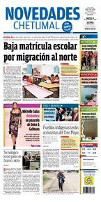 Baja matrícula escolar por migración al norte