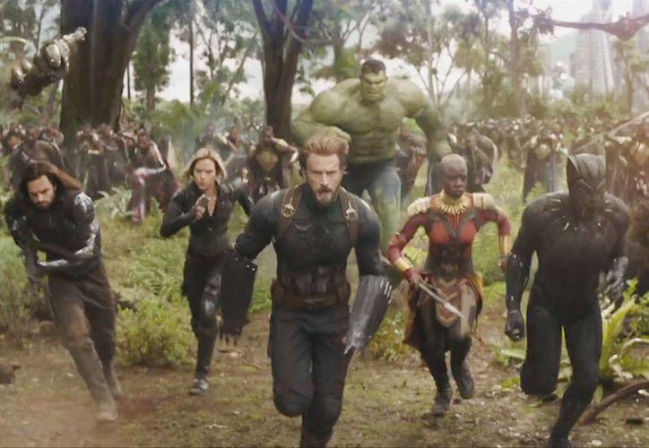 El tráiler de Avengers: Infinity War rompió récord. (Marvel)