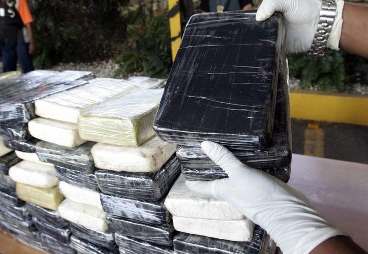 Se incautaron 68 kilogramos de cocaína. (Archivo/EFE)