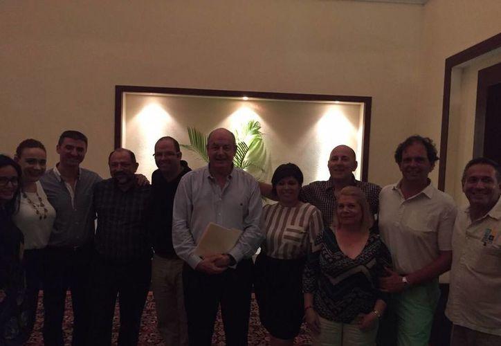 Jean Agarrista Marfin fue reelegido anoche para presidir la Asociación de Hoteles de la Riviera Maya. (Redacción/SIPSE)