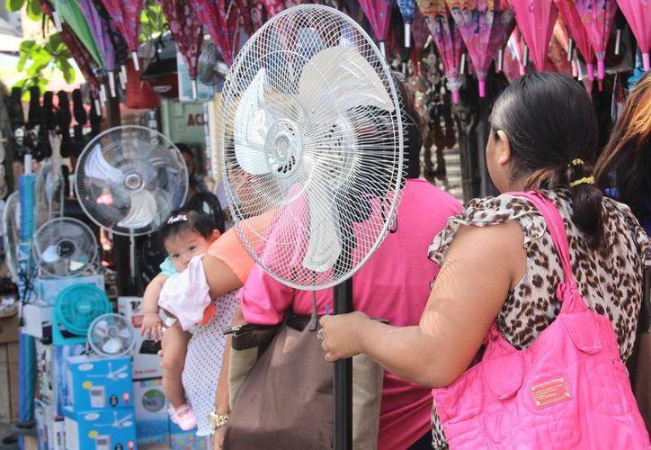 Un clima extremadamente caluroso ha acompañado a los yucatecos en los últimos días. (SIPSE)