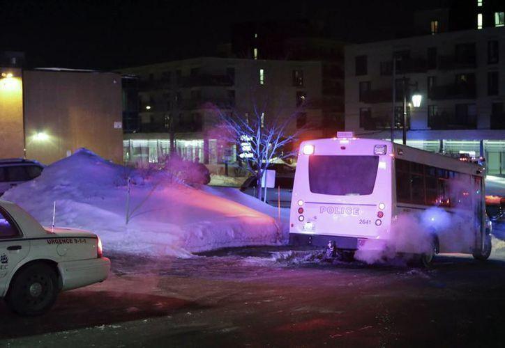 La policía de Quebec confirmó muertes en el ataque, pero se desconoce cuántas. (Francis Vachon/The Canadian Press via AP)
