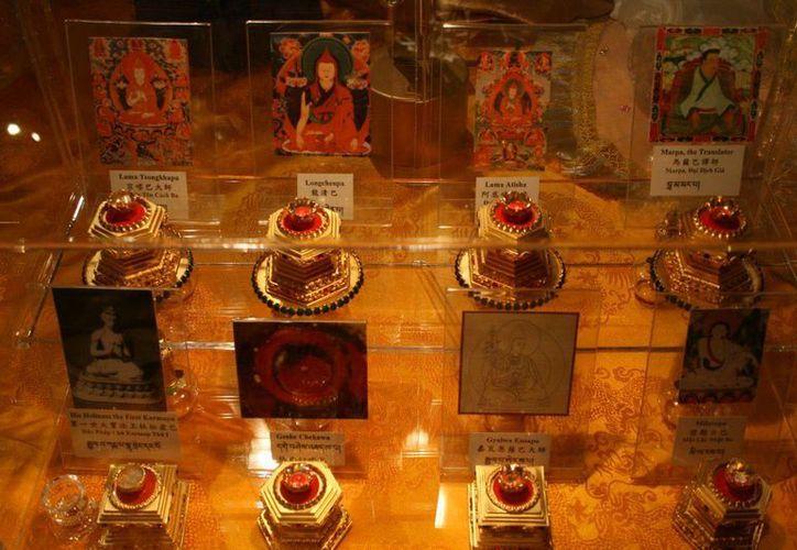 Los visitantes podrán contemplar las reliquias de los grandes maestros antiguos como: Milarepa, Ananda y Shariputra. (Flickr/luisdemiguel)