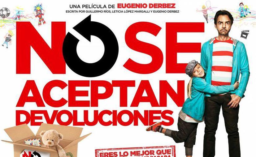 La cinta iNo se aceptan devoluciones</i> de Eugenio Derbez esta nominado como Mejor actor, Mejor actriz, Mejor Música Original y Mejor Guión. (Internet)