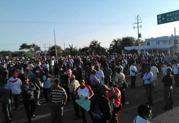 El líder de la CNC en Bacalar informó a través de Facebook que no habrá más bloqueos carreteros. (Javier Ortiz/SIPSE)