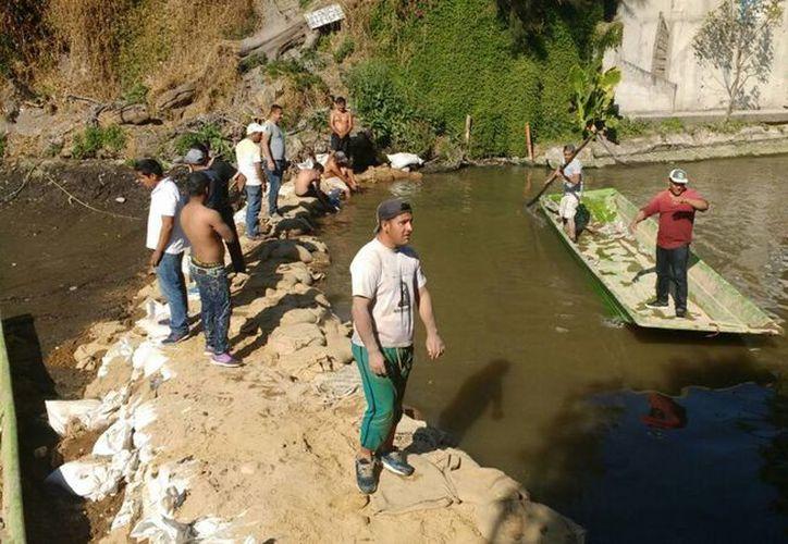 Las autoridades señalan que funcionan con normalidad los servicios turísticos en la zona lacustre. (Notimex)