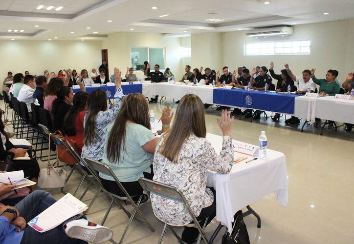 Las autoridades dieron a conocer el informe del Protocolo Alba. (Adrián Barreto/SIPSE)