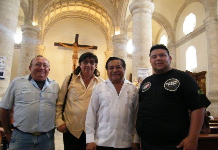 El gremio de filarmónicos agradeció a su Santa Patrona por el trabajo. (Milenio Novedades)