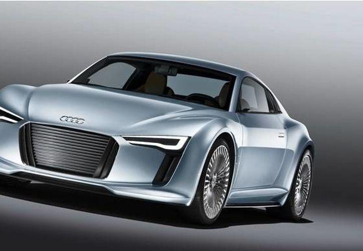 El modelo eléctrico, cuyo nombre no ha sido asignado, comenzará a producirse hasta 2018. (audi.com.mx)