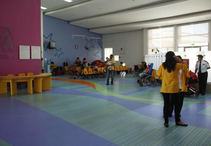 El Centro de Rehabilitación Infantil Teletón del estado será el primero a nivel nacional en recibir su galardón. (Israel Leal/SIPSE)
