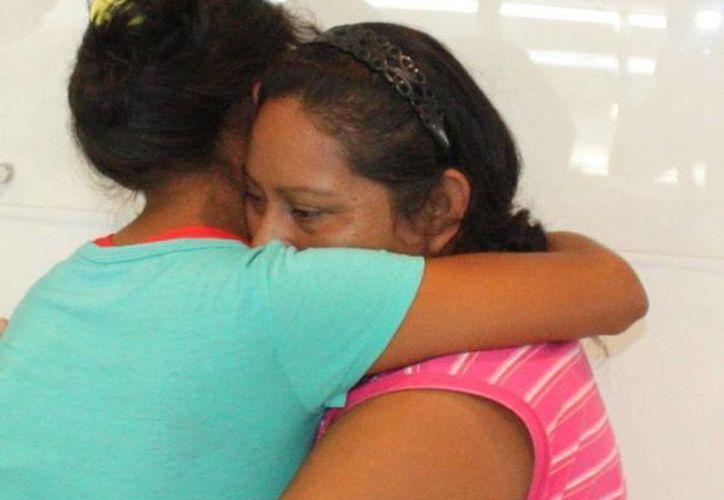 Alejandra del Carmen Tec Chuc, adolescente de Motul, motivó amplia movilización en mayo pasado porque supuestamente la habían secuestrado. Al final de cuentas había huido con su novio a Quintana Roo. (SIPSE)