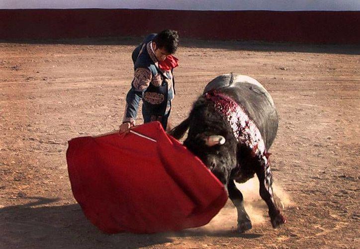 Lo mejor para Adame vino con su segundo toro, Alcaparrito, de 541 kilos. (ciudadtaurina.com/Archivo)
