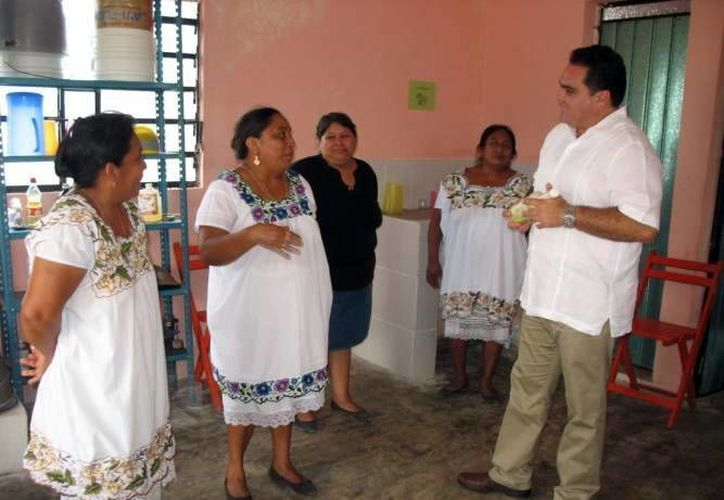 El delegado de la CDI dio a conocer el proyecto. (Milenio Novedades)