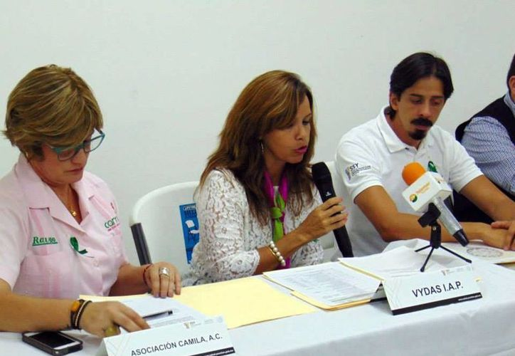 Por medio de una rueda de prensa se dieron a conocer las actividades que se realizarán para motivar a la gente a unirse a la donación de órganos. (Milenio Novedades)