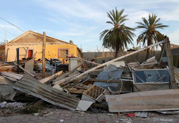 El huracán Odile ocasionó graves daños a la infraestructura en Baja California Sur. La imagen es de Los Cabos. (Notimex)