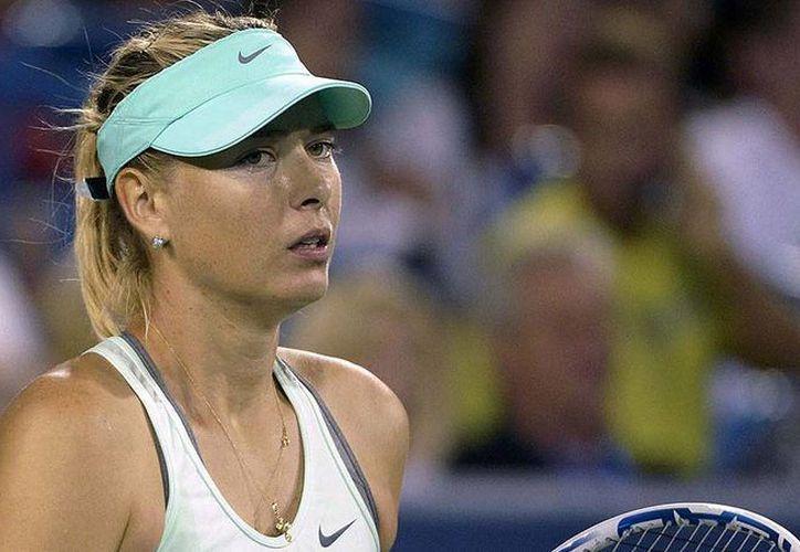 Además de tenista, Maria Sharapova también es activa emprendedora. (AP)