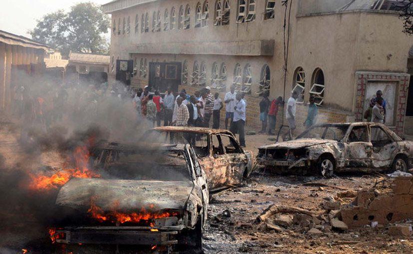 Al menos 19 personas murieron y 23 más resultaron heridas por una ola de atentados suicidas en la norteña ciudad nigerina de Maiduguri. (Contexto/Internet).
