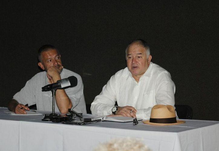 La plática se brindó en el marco de la Feria de la Lectura Yucatán. (Milenio Novedades)