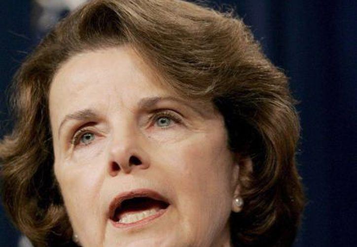 La demócrata Diane Feinstein, senadora por California y presidente del Comité de Inteligencia del Senado. (EFE/Archivo)