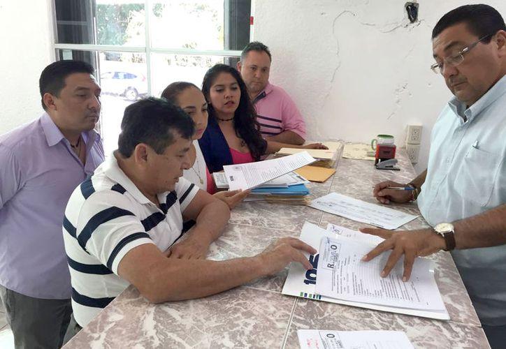 Una aspirante de Cozumel se quedó fuera de la contienda por no presentar a tiempo sus papeles. (Foto: Joel Zamora/SIPSE).