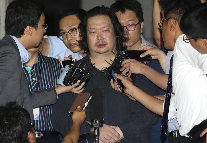 Yoo Dae-gyun fue detenido tres días después de que su multimillonario padre apareciera muerto. (Foto: AP)