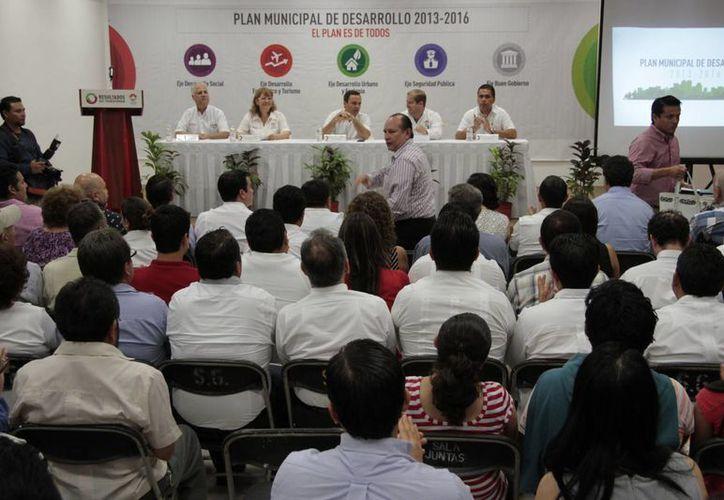 Los programas de los conco ejes partieron de las sugerencias de la ciudadanía. (Tomás Álvarez/SIPSE)