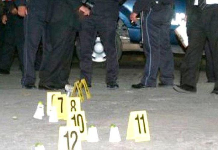 Un enfrentamiento en Culiacán dejó saldo un muerto un muerto y 12 heridos. La víctima era un pistolero conocido como El Torero. (foto de conexto de alinstantenoticias)