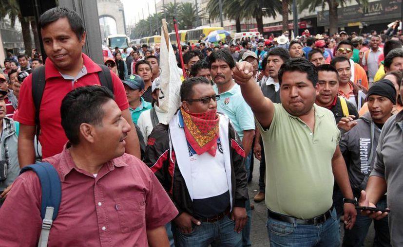 Los maestros de la CNTE realizarán una marcha masiva en Oaxaca para condenar la desaparición del Ieepo. (Archivo/Notimex)