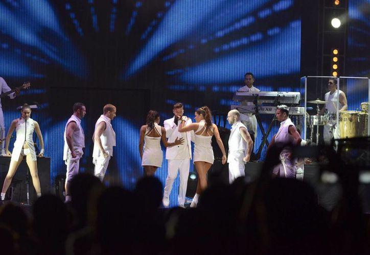 Alrededor de 13 mil personas asistieron al concierto. (Israel Leal/SIPSE)