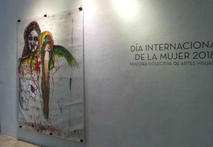 """La exposición lleva por nombre """"Silente Soledad Sonora"""". (Jocelyn Díaz/SIPSE)"""