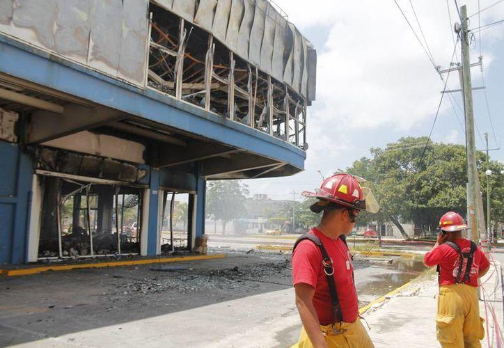 El incendio logró ser controlado la tarde del domingo. (Jesús Tijerina/SIPSE)