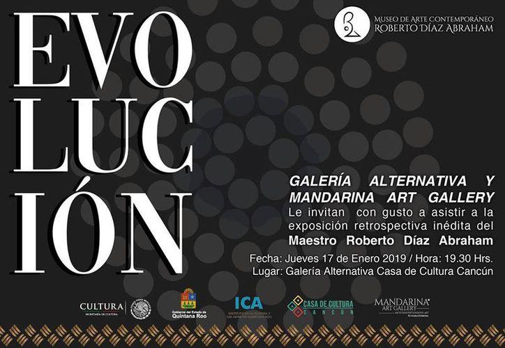 """La exposición inédita llevará por nombre """"Evolución"""". (Faride Cetina/SIPSE)"""