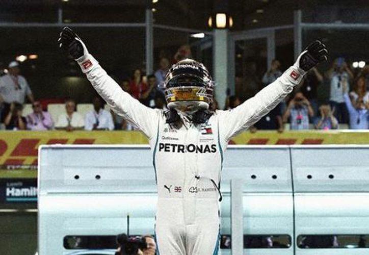 Concluyó la Temporada 2018 de la Fórmula 1 como el mejor piloto. (Instagram)