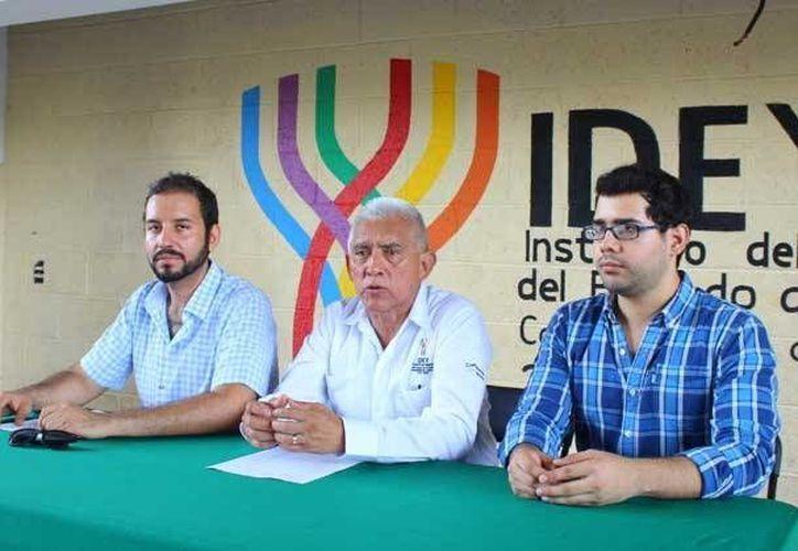 Imagen de la rueda de prensa donde se dieron a conocer los eventos deportivos que se realizarán en Yucatán. (Milenio Novedades)