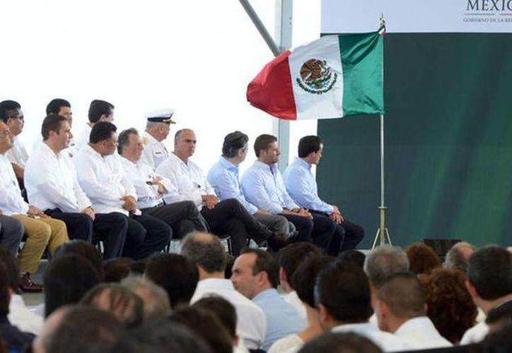 Con la promulgación de esta Ley, concluye la etapa legislativa e inicia la fase de implementación. Imagen del Presidente en el estado de Michoacán. (gob.mx)