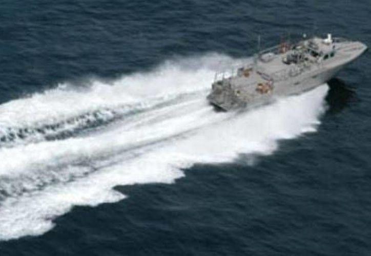 La Armada de México Secretaría de Marina (Semar) participa en la búsqueda del barco pesquero 'Cuauhtémoc X'. (SIPSE)