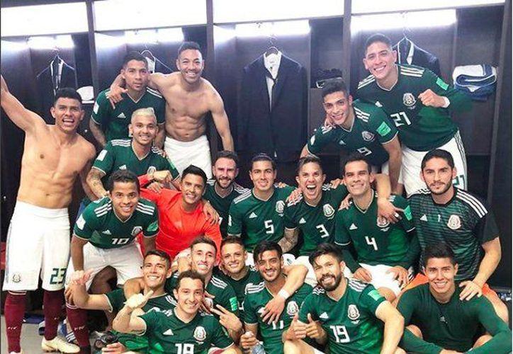 La Selección Mexicana podría ser la primera con seis puntos eliminada en un Mundial (Foto: cuenta de Twitter de Marco Fabián)