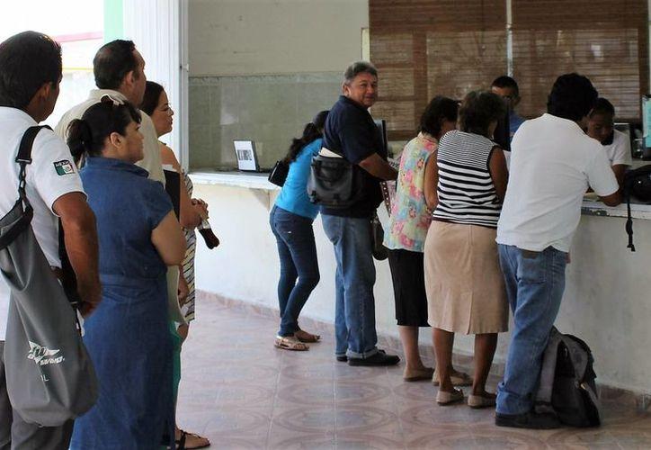 El Ayuntamiento capitalino no puede cobrar un impuesto predial mayor a cinco años. (Carlos Horta/ SIPSE)