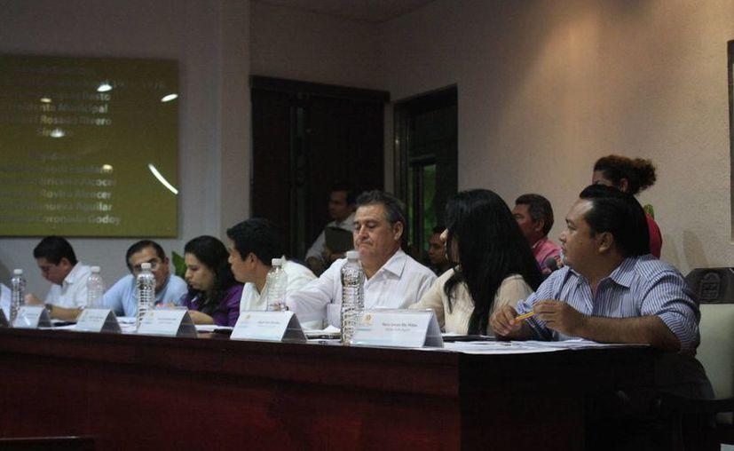 """""""Estamos conscientes de que el Ayuntamiento está quebrado"""", expresó el regidor Federico Hernández Amador. (Harold Alcocer/SIPSE)"""