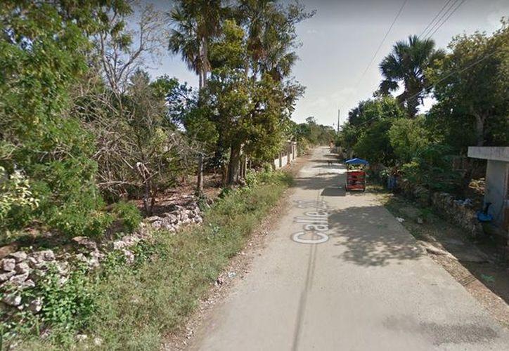 El crimen ocurrió el pasado lunes en la comunidad de Opichén. (Google Maps)