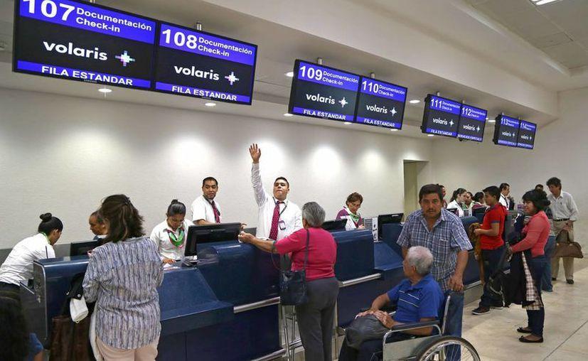Volaris tendrá salidas desde Cancún  hacia hacia Indianapolis, Pittsburgh y  Cincinnati. (Jesús Tijerina/SIPSE)