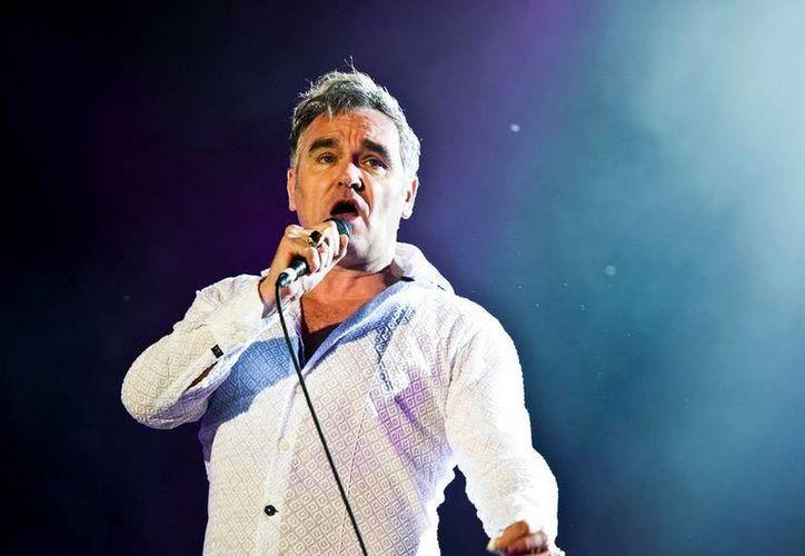 Morrissey encabeza el primer Festival Roxy 2017, el cual se llevará  a cabo en el Parque Trasloma de Guadalajara.(Archivo/AP)