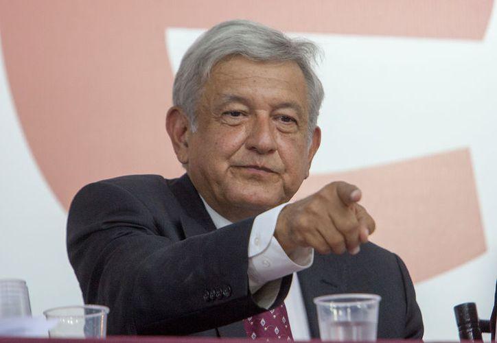 Andrés Manuel López Obrador,  insistió en que las acusaciones entre ambos candidatos forman parte de de los acuerdos. (Foto: Proceso)