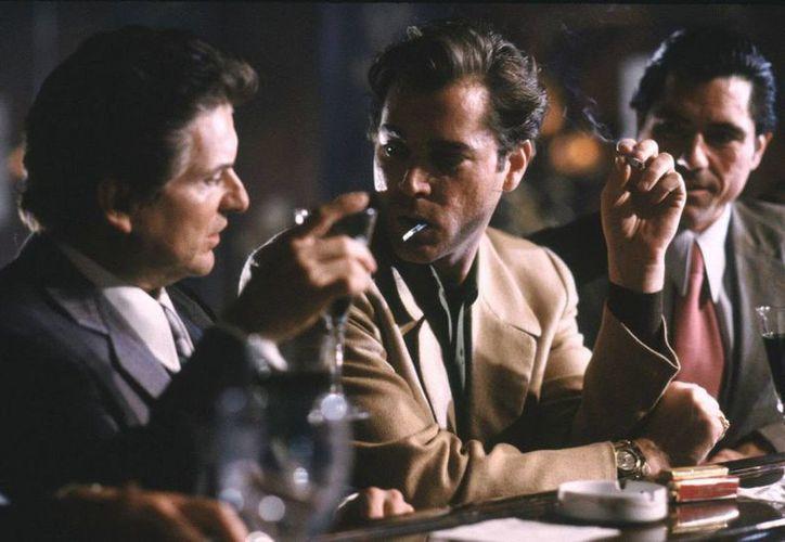 'Goodfellas' de Martin Scorserse, cinta basada en el libro 'Wiseguy', de Nicholas Pileggi, volverá a los cines de México del cuatro al 10 de marzo. (Tomada de gablescinema.com)