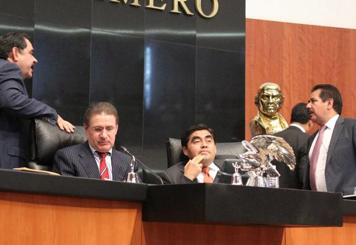 Los senadores declararon improcedente la solicitud del PAN de desaparecer los poderes en el estado de Guerrero. (Notimex)